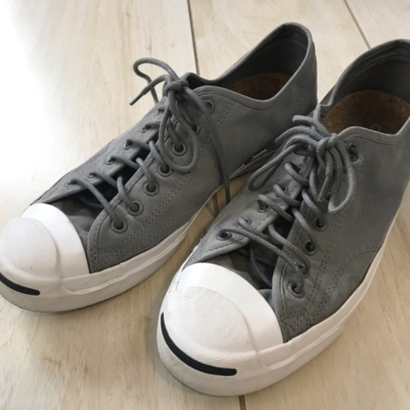 bb42eed54971e0 Converse Shoes - Converse Jack Purcell Gray White Unisex Shoes